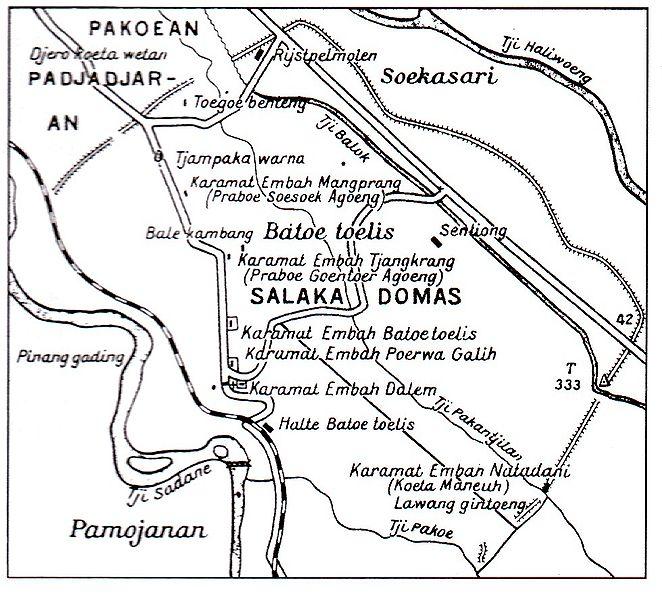 HUT Kota Bogor - Sejarah Padjadjaran